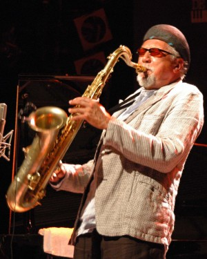 Charles Lloyd in action.