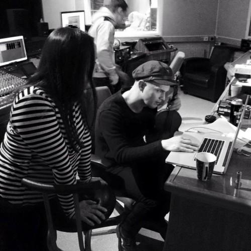 Garmarna i studion