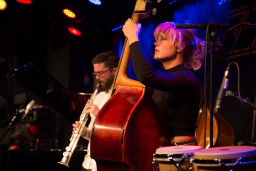 Jazzkatten 2015  Elsa Bergman och Festen Foto: Micke Grönberg/Sveriges Radio