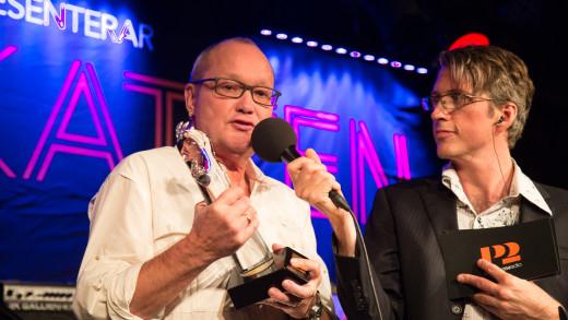 Vinnare P2 Jazzkatten 2015 Guldkatten - Nils Landgren Foto: Micke Grönberg/Sveriges Radio