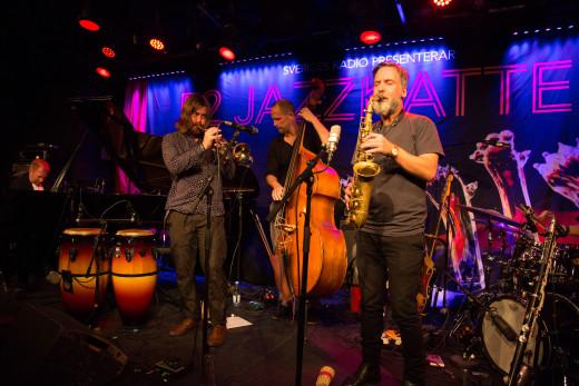 Jazzkatten 2015  Oddjob! Foto: Micke Grönberg/Sveriges Radio