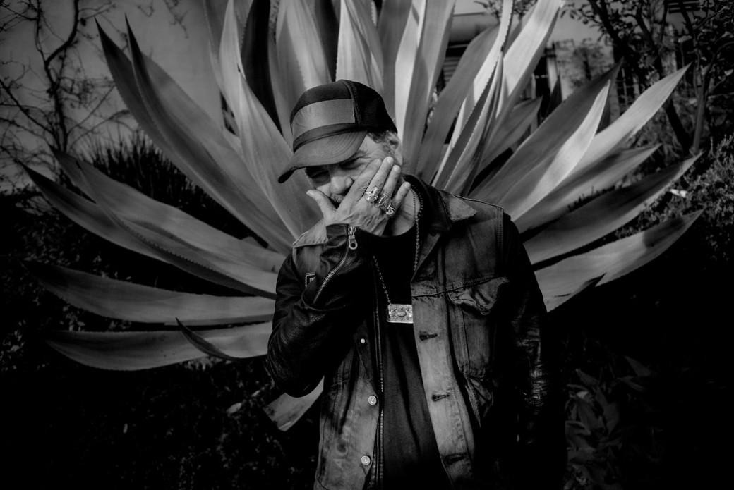 Daniel Lanois. Los Angeles, December 2015. Photo by Marthe Amanda Vannebo