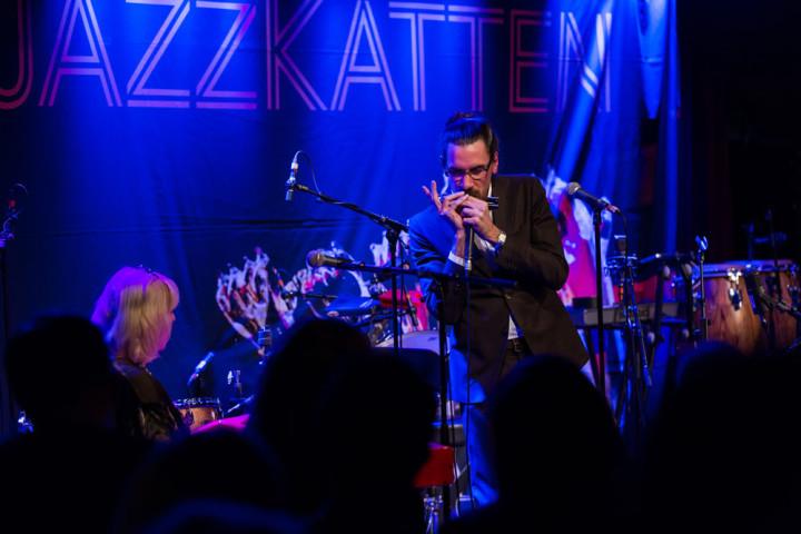 P2 Jazzkatten 2017 Live: Monica Dominique & Filip Jers foto: Mattias Ahlm/Sveriges Radio