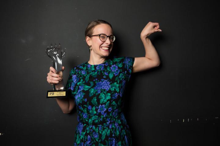 P2 Jazzkatten 2017 Årets kompositör Malin Wättring foto: Mattias Ahlm/Sveriges Radio