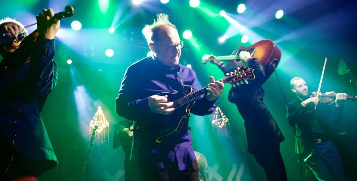 Frigg gav järnet på den finska folk- och världsmusikgalan. Bild: Ville Tanttu.