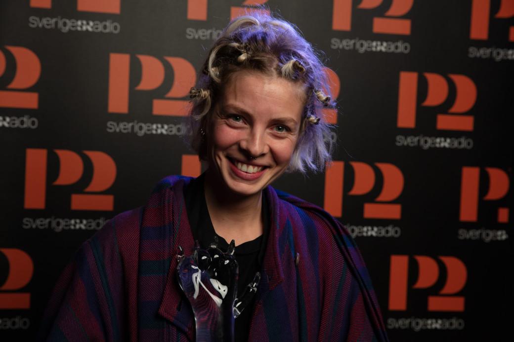 P2 Jazzkatten 2019 Årets nykomling: Josefin Runsteen Foto: Micke Grönberg/Sveriges Radio